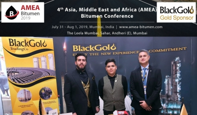 The 4th AMEA Bitumen and Base Oil conference will be held on July 31 - Aug 1, 2019 in Mumbai